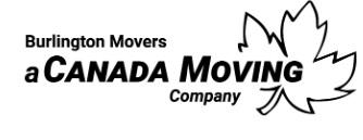 Moving company Burlington Movers