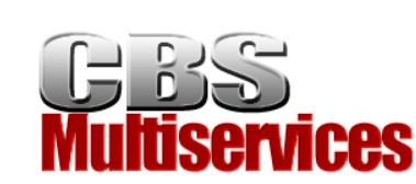 Déménageur CBS Multiservices