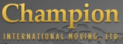 Moving company Champion International Moving Limited