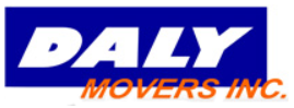 Moving company Daly Movers, Inc.