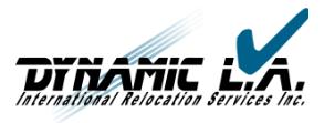 Moving company Dynamic L.A., Inc.