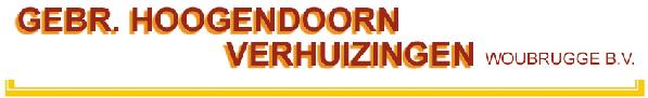 Verhuisbedrijf Gebr. Hoogendoorn Woubrugge