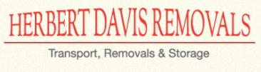 Removal company Herbert Davis Removals and Storage