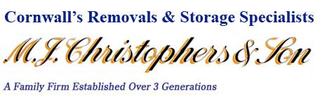 Removal company M. J. Christophers & Son Newquay