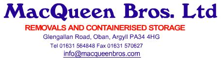 Removal company MacQueen Bros