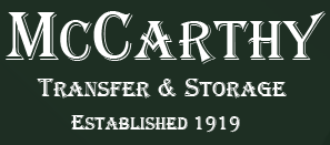 Moving company McCarthy Transfer & Storage
