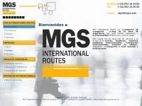 Empresa de mudanzas MGS International Routes, S.L.