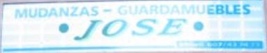 Empresa de mudanzas Mudanzas Jose