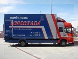 Empresa de mudanzas Mudanzas Lorenzana