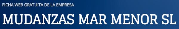 Empresa de mudanzas Mudanzas Mar Menor