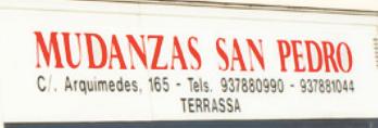 Empresa de mudanzas Mudanzas San Pedro