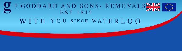 Removal company P. Goddard & Son