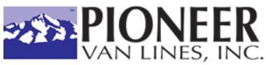 Moving company Pioneer Van Lines Inc.