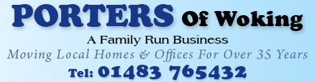 Removal company Porters of Woking