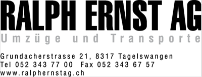 Moving company Ralph Ernst AG