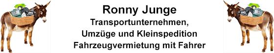 Umzugsunternehmen Saalfelder Packesel - Ronny Junge