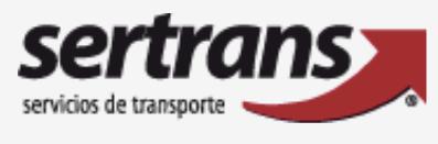 Empresa de mudanzas Sertrans