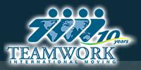 Moving company Teamwork International Moving