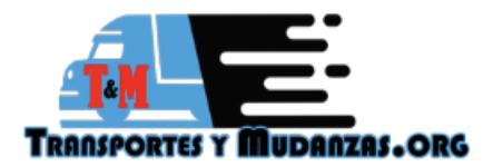 Empresa de mudanzas T&M TRANSPORTES Y MUDANZAS