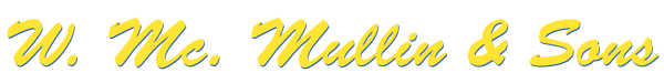 Removal company W McMullin & Son